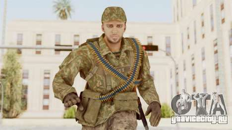 MGSV The Phantom Pain Soviet Union LMG v1 для GTA San Andreas