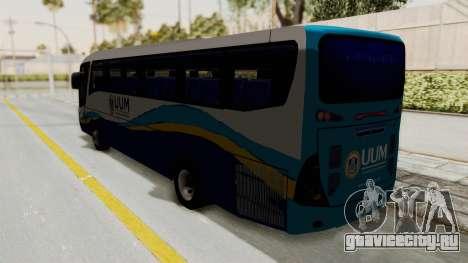 Marcopolo UUM Bus для GTA San Andreas вид слева