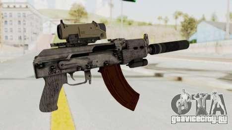 Combat SMG для GTA San Andreas третий скриншот