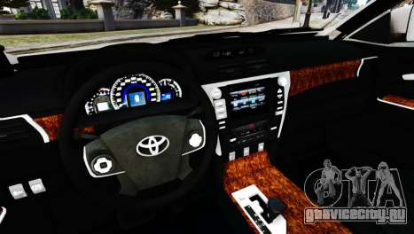 Toyota Camry Tuning V2 для GTA 4 вид справа