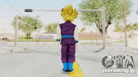 Dragon Ball Xenoverse Gohan Teen DBS SSJ2 v1 для GTA San Andreas третий скриншот