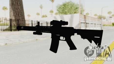 Colt M4 CQB S.W.A.T. для GTA San Andreas второй скриншот