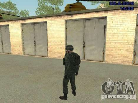 Modern Russian Soldiers pack для GTA San Andreas седьмой скриншот