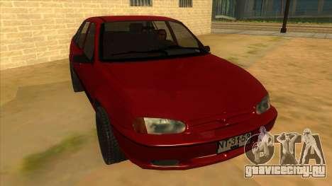 Daewoo Racer GTI для GTA San Andreas вид сзади