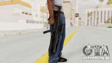MP5SD with Grenade Launcher для GTA San Andreas третий скриншот