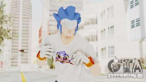 Sonic Man для GTA San Andreas
