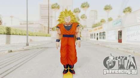 Dragon Ball Xenoverse Goku SSJ3 для GTA San Andreas второй скриншот