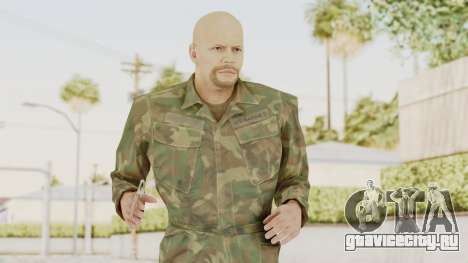 MGSV Ground Zeroes US Soldier No Gear v2 для GTA San Andreas