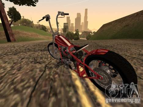 Chopper Old School для GTA San Andreas вид справа