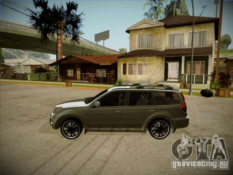 Great Wall Hover H2 2008 для GTA San Andreas вид сзади слева