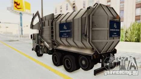New Trashmaster для GTA San Andreas вид справа