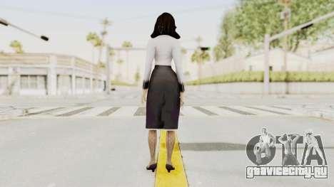 Bioshock Infinite Burial at Sea Elizabeth для GTA San Andreas третий скриншот