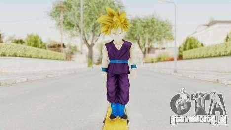 Dragon Ball Xenoverse Gohan Teen DBS SSJ1 v1 для GTA San Andreas второй скриншот