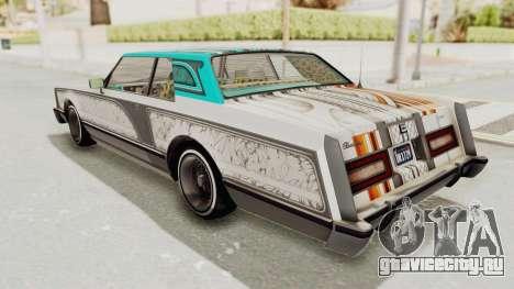 GTA 5 Dundreary Virgo Classic Custom v1 для GTA San Andreas вид сбоку