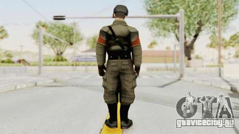 Russian Solider 1 from Freedom Fighters для GTA San Andreas третий скриншот