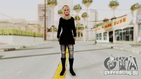 Iranian Girl Skin для GTA San Andreas второй скриншот