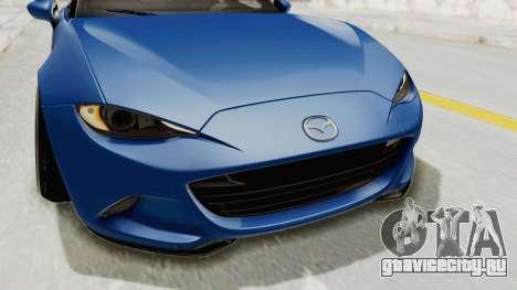 Mazda MX-5 Slammed для GTA San Andreas вид сверху