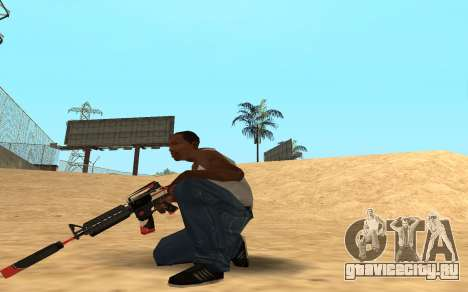 M4 Cyrex для GTA San Andreas четвёртый скриншот