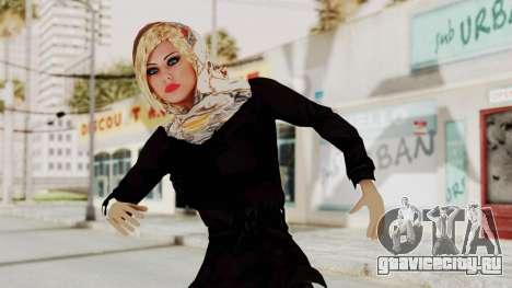 Iranian Girl Skin для GTA San Andreas