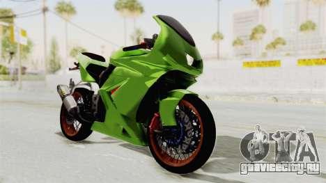 Kawasaki Ninja 250R Asian Style для GTA San Andreas