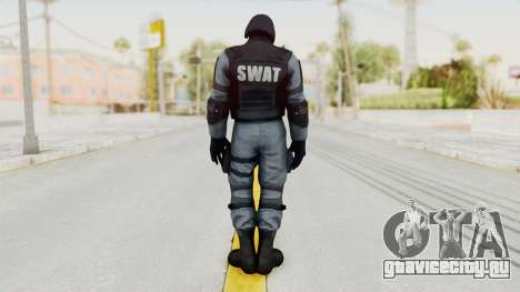 Batman Arkham Origins Swat для GTA San Andreas третий скриншот