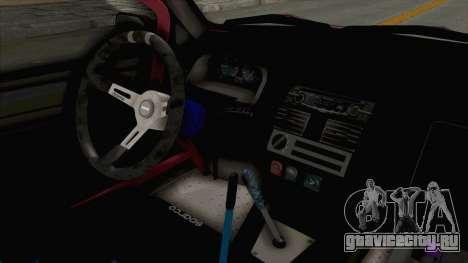 Peugeot 106 V2 RWD Greek Style для GTA San Andreas вид изнутри