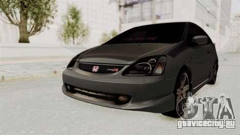 Honda Civic Type R EP3 для GTA San Andreas вид сзади слева