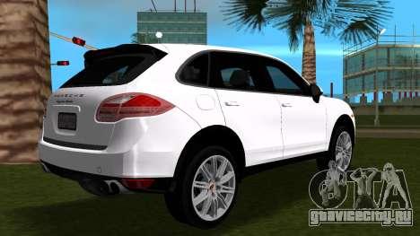 Porsche Cayenne 2012 для GTA Vice City вид сзади слева