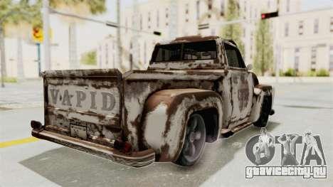 GTA 5 Slamvan Lowrider PJ2 для GTA San Andreas вид сверху