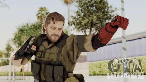 MGSV The Phantom Pain Venom Snake No Eyepatch v1 для GTA San Andreas