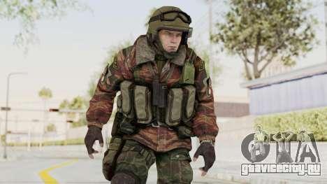 Battery Online Russian Soldier 9 v1 для GTA San Andreas