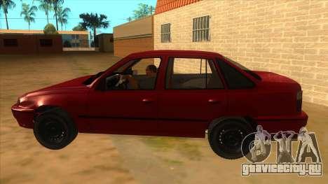 Daewoo Racer GTI для GTA San Andreas вид слева