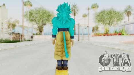 Dragon Ball Xenoverse Goku SSJ4 SSGSS для GTA San Andreas третий скриншот