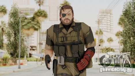 MGSV The Phantom Pain Venom Snake Olive Drab для GTA San Andreas