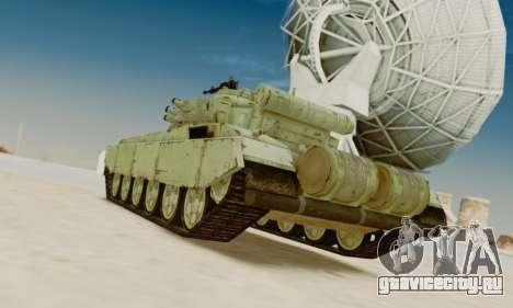 Т-72А для GTA San Andreas вид сзади слева
