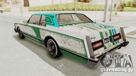 GTA 5 Dundreary Virgo Classic Custom v1 для GTA San Andreas