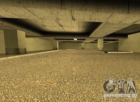 LSPD New Garage для GTA San Andreas