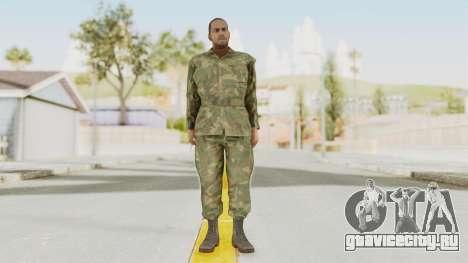 MGSV Ground Zeroes US Soldier No Gear v1 для GTA San Andreas второй скриншот