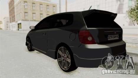 Honda Civic Type R EP3 для GTA San Andreas вид слева