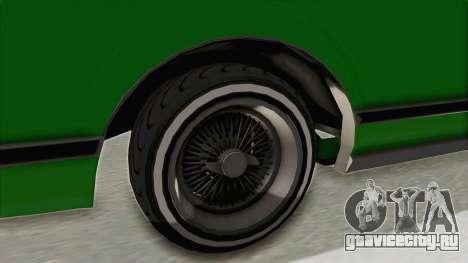 GTA 5 Dundreary Virgo Classic Custom v1 для GTA San Andreas вид сзади