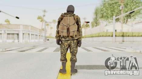 COD Black Ops Russian Spetznaz v5 для GTA San Andreas третий скриншот