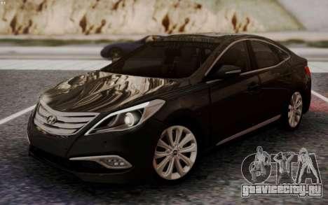 Hyundai Grandeur 2015 STOCK для GTA San Andreas
