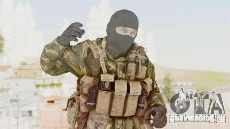 COD Black Ops Russian Spetznaz v5 для GTA San Andreas
