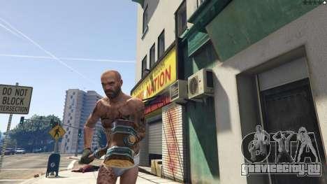 Wooden Fantasy Hammer для GTA 5 пятый скриншот