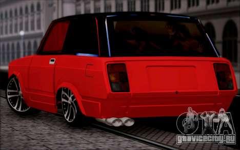 ВАЗ 2104 Микро для GTA San Andreas вид слева