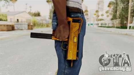 MAC-10 Gold для GTA San Andreas третий скриншот