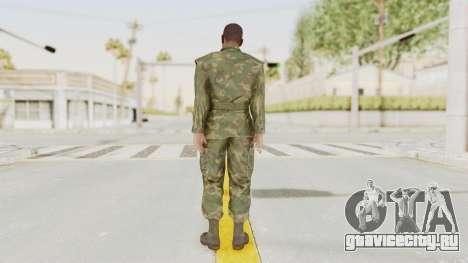 MGSV Ground Zeroes US Soldier No Gear v1 для GTA San Andreas третий скриншот