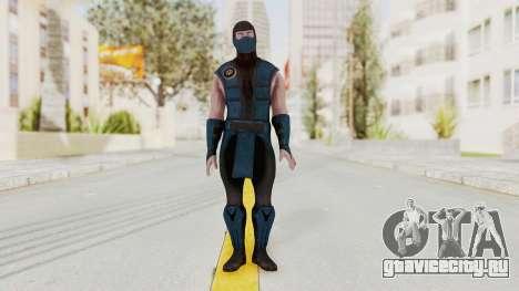 Mortal Kombat X Klassic Sub Zero v1 для GTA San Andreas второй скриншот