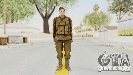 MGSV The Phantom Pain Soviet Union Vest v1 для GTA San Andreas второй скриншот