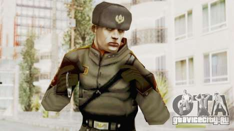 Russian Solider 1 from Freedom Fighters для GTA San Andreas